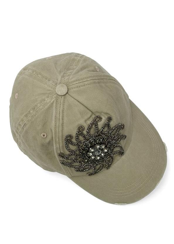 Alternate View Distressed Embellished Hat