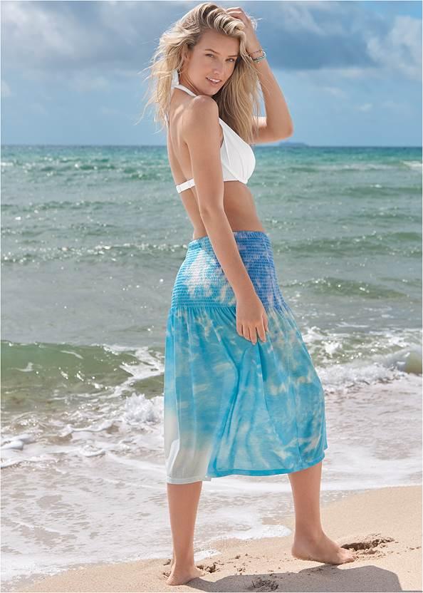 Full back view Convertible Dress/Skirt