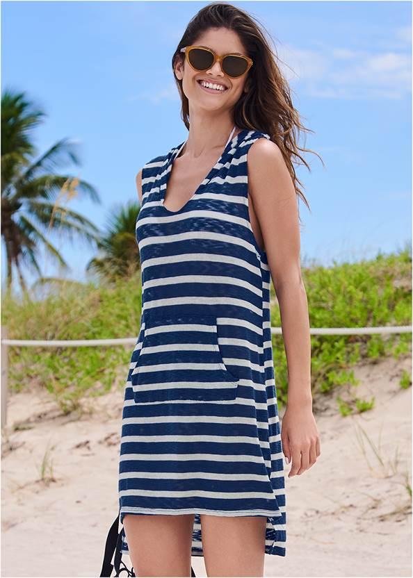 Alternate View Hooded Beach Dress