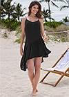 Alternate View Asymmetrical Cover-Up Dress