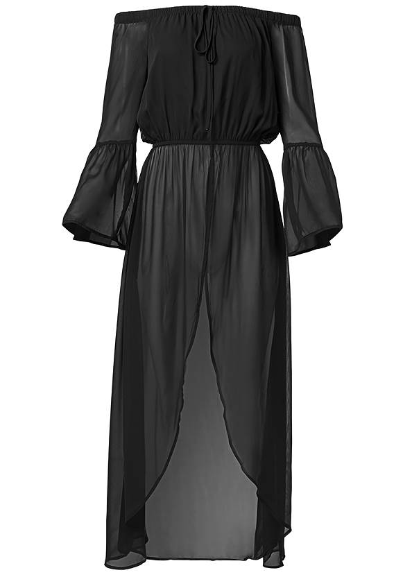 Alternate View Off-The-Shoulder Maxi Top