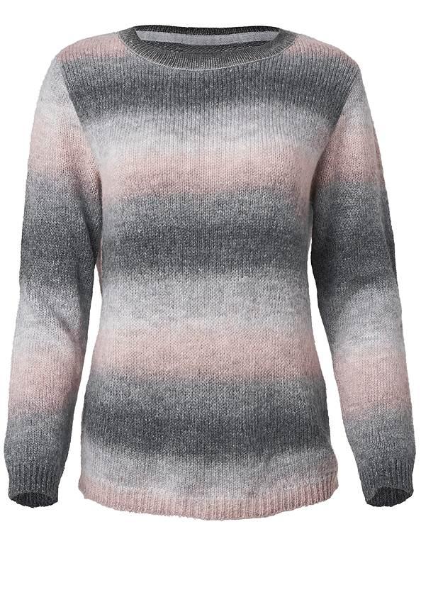 Alternate View Ombre Stripe Sweater