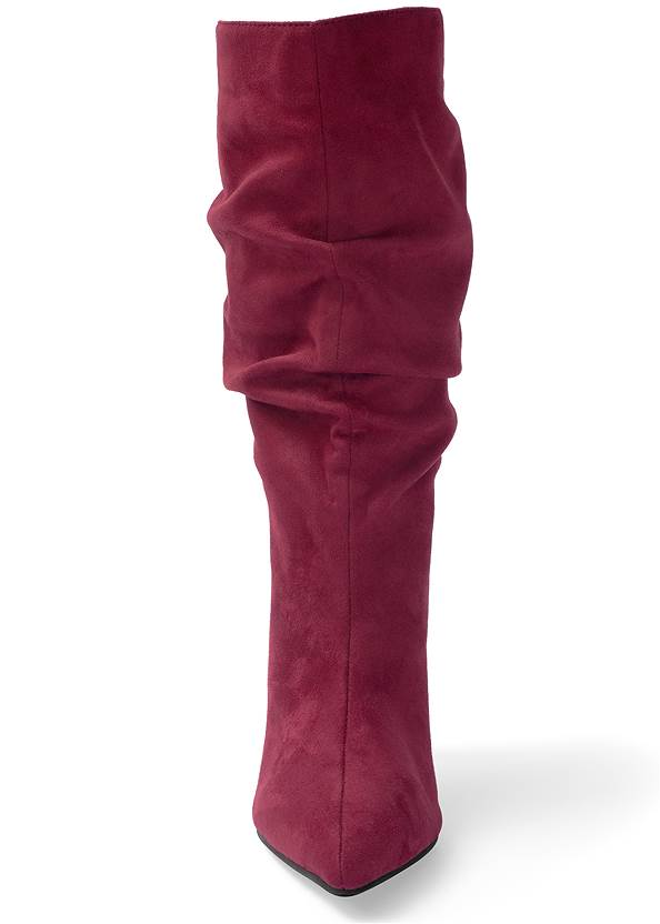 Alternate View Slouchy Faux Suede Boots