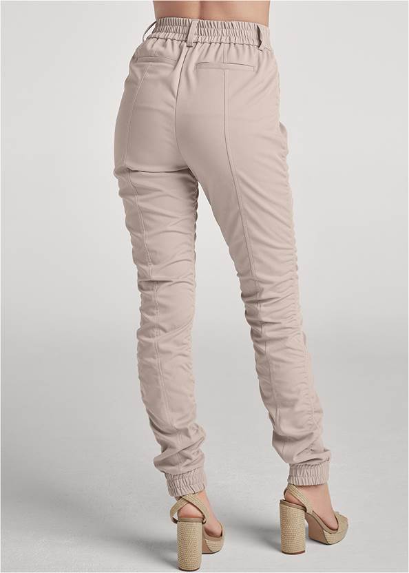 Back View Ruched Cargo Pant