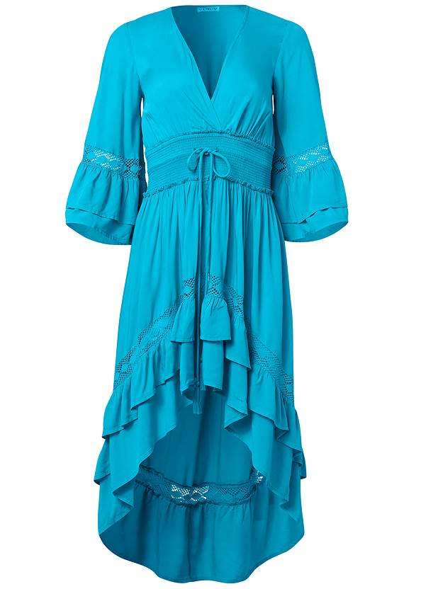 Alternate View Lace Detail Tiered Maxi Top