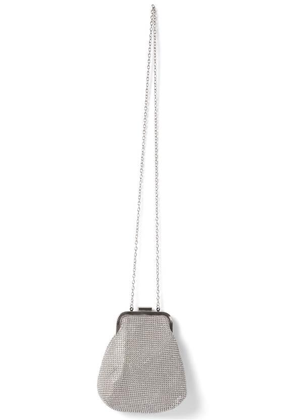 Alternate View Allover Rhinestone Handbag
