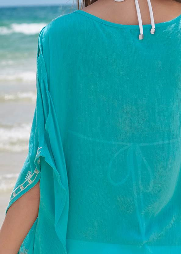Alternate View Boho Beach Tunic Cover-Up