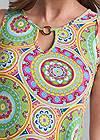Alternate View Medallion Print Dress