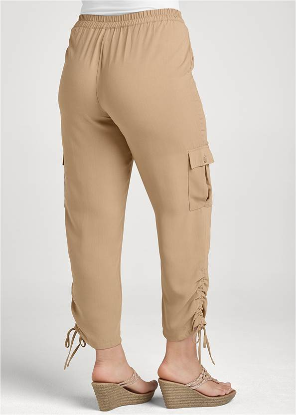 Back View Lightweight Cargo Pants