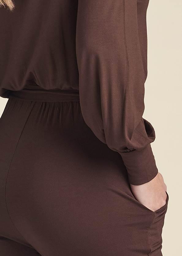 Alternate View Off-The-Shoulder Jumpsuit