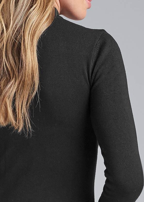 Alternate View Cutout Detail Sweater