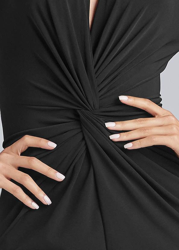 Alternate View Exaggerated Sleeve Dress