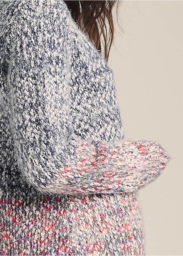 Alternate View Marled Knit Cardigan