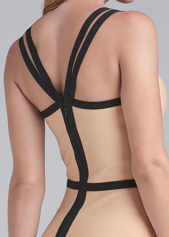 Alternate View Bandage Strappy Dress