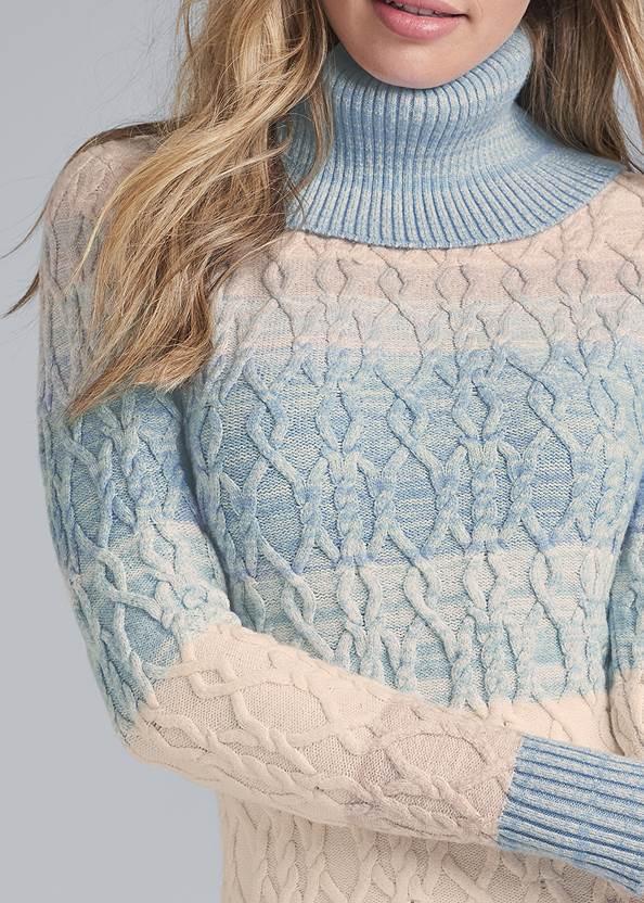 Alternate View Turtleneck Sweater Dress