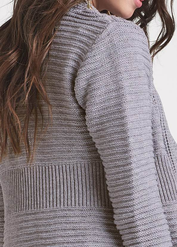 Alternate View Cable Knit Cardigan