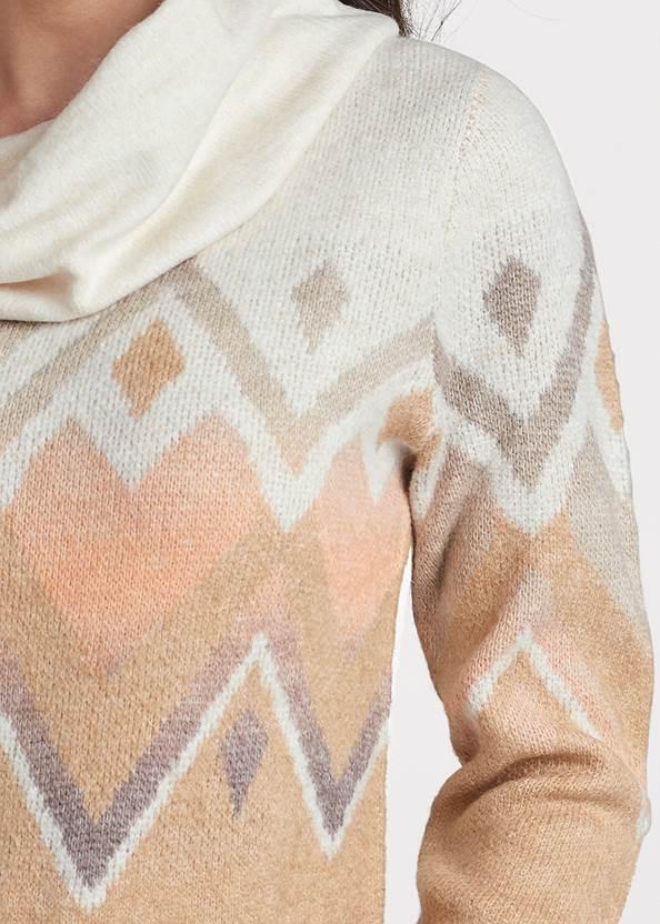 Alternate View Cowl Neck Sweater
