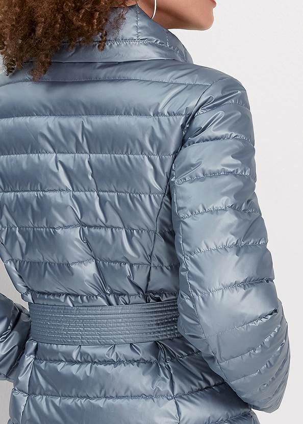 Alternate View Metallic Puffer Coat