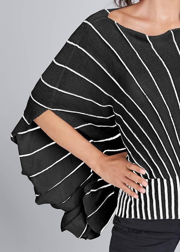 Alternate View Butterfly Sleeve Sweater