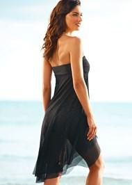 Back view Mesh Dress/Skirt