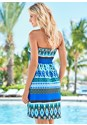 Back view Tribal Smocked Dress
