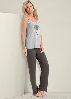dandelion pajama pant set