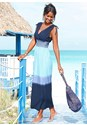 Front view Ombre Maxi Dress