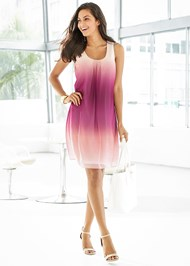 Front view Ombre Party Dress
