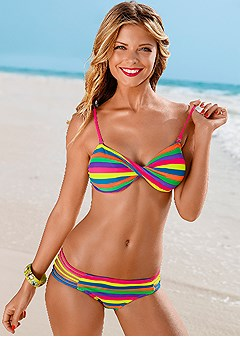 strappy bikini bottom