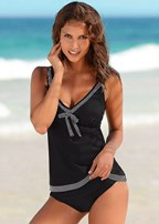 bow front tankini set