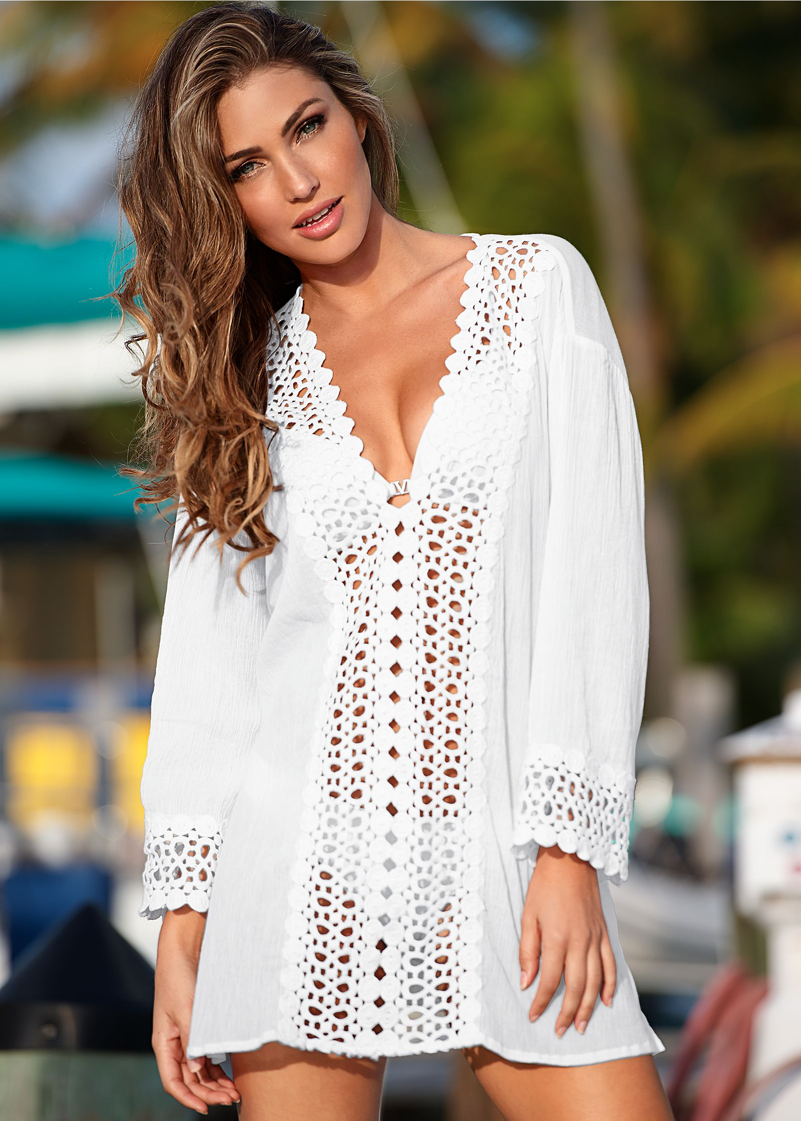 Gauze Swimsuit Cover UPS and Beach Dresses