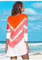 Back view Tie Dye Cover-Up