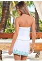 Back view Effortless Cover-Up Dress