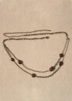 multi stone belly chain