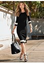 Alternate View Color Block Sweater Dress