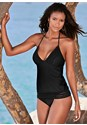 Front view Lace Detail Tankini