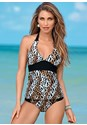 Front view Halter Tankini