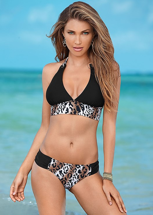 MID RISE BOTTOM,SASH HALTER,TIED UP BANDEAU,SASH TIE HALTER TOP,TRIANGLE BIKINI TOP,SLENDERIZING TANKINI TOP