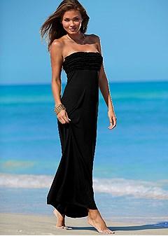Open Back Maxi Dress In Venus