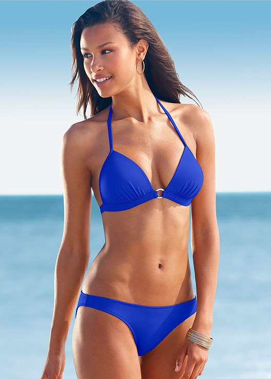 LOW RISE BIKINI BOTTOM,ENHANCER PUSH UP TRIANGLE