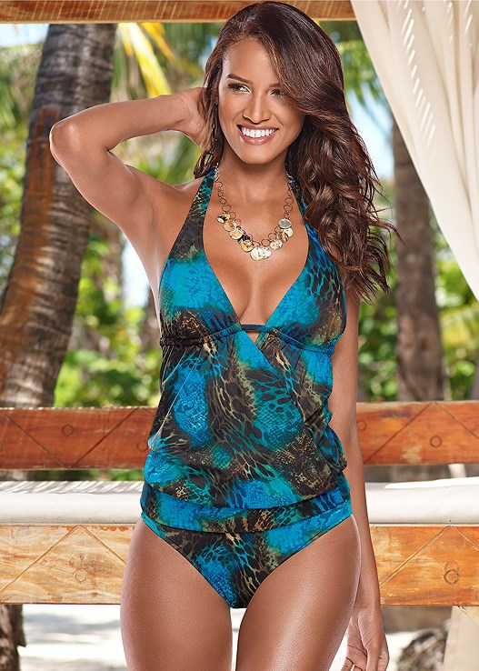 HIGH WAIST FULL CUT BOTTOM,SURPLICE BLOUSON TANKINI,FLYAWAY TANKINI TOP,PEEPHOLE SPORT TOP,KEYHOLE HIGH NECK TOP,CRISS CROSS WRAP TOP
