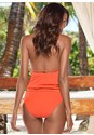 Back view Surplice Blouson Tankini