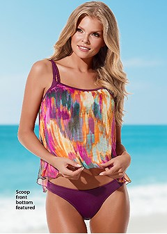 sheer swing tankini