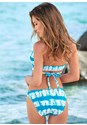 Back view Wrap Halter Bikini Top