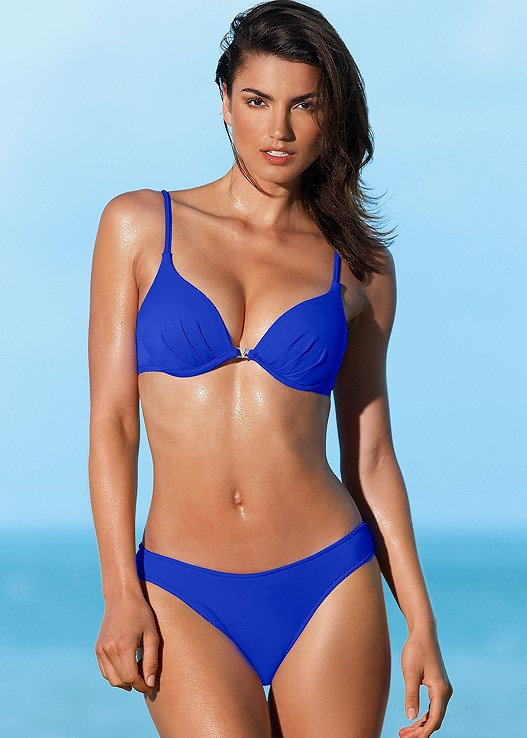 4df83e24f0 Cobalt Blue ENHANCER PUSH UP BRA Bikini