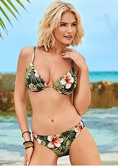 scoop front bikini bottom