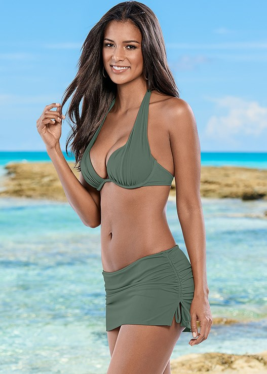 ff8ce72fc2 Army Green MARILYN PUSH UP BRA TOP from VENUS