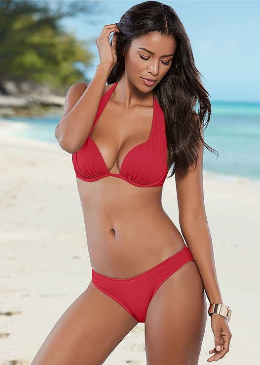 0ebeefe8a9385 Red Hot MARILYN PUSH UP BRA TOP Bikini