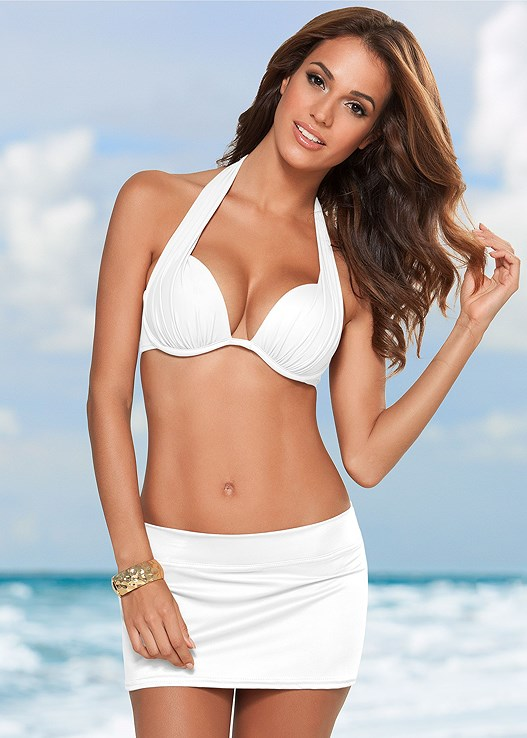 3764ee4cf4 skirted swim bikini bottom