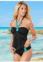 Front view Bold Necklace Tankini